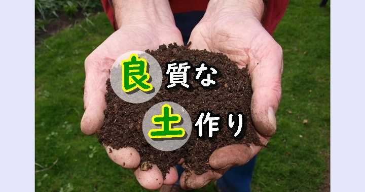 土作り 基本用土 植物用土