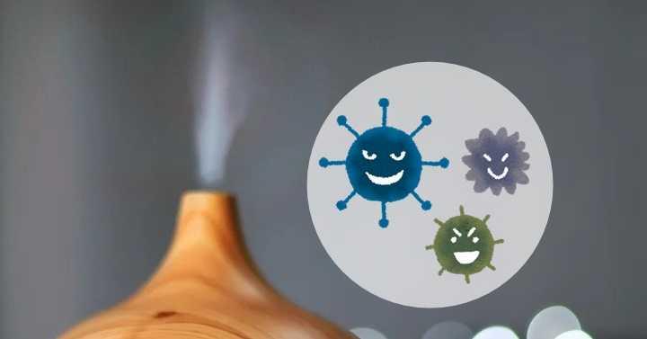 加湿器と雑菌