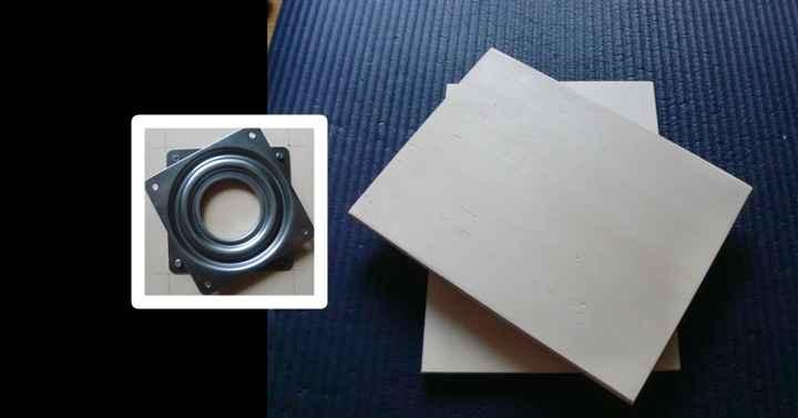 ターンテーブル・回転台の作り方と材料。30分で作成可能